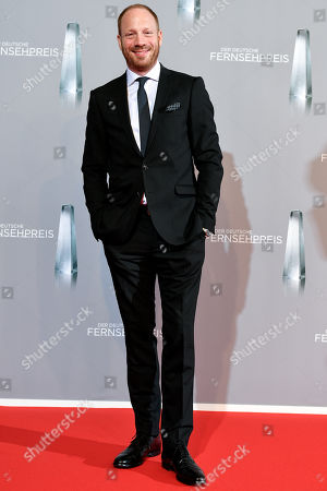 Johann von Buelow arrives for the prize-giving ceremony of the 20th German Television Award in Duesseldorf, Germany 31 January 2019. The Deutscher Fernsehpreis is awarded for television programming by four German TV channels annually.