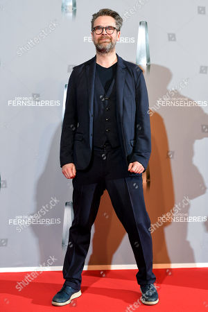 Stock Photo of Matthias Matschke arrives for the prize-giving ceremony of the 20th German Television Award in Duesseldorf, Germany 31 January 2019. The Deutscher Fernsehpreis is awarded for television programming by four German TV channels annually.