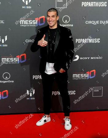 Spanish former soccer player Jose Manuel Pinto poses for the photographers on the red carpet, during the presentation of Cirque du Soleil in partnership with Argentinian soccer player Leo Messi at Camp Nou in Barcelona, Catalonia, Spain, 31 January 2019. Leo Messi, Cirque du Soleil Entertainment Group and PopArt Music announce their partnership for the creation of a brand-new show to be launched in 2019, in association with Sony Music.