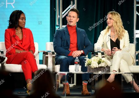 Editorial photo of Showtime 'City on a Hill' TV Show Panel, TCA Winter Press Tour, Los Angeles, USA - 31 Jan 2019
