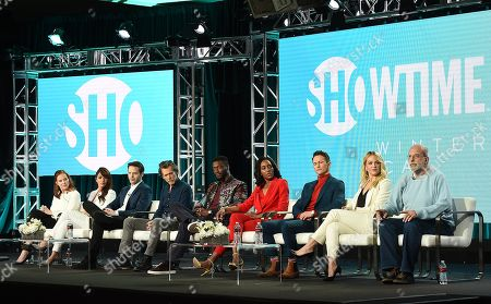 Editorial picture of Showtime 'City on a Hill' TV Show Panel, TCA Winter Press Tour, Los Angeles, USA - 31 Jan 2019