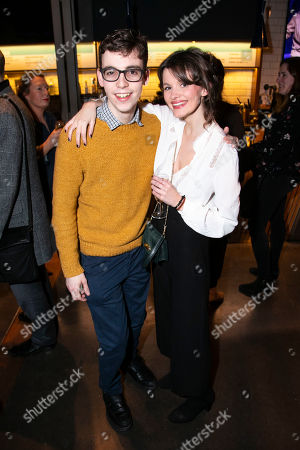 Jack Hunter (John) and Emily Barber (Jess)