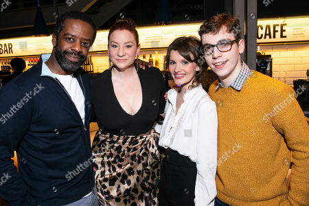 Stock Picture of Adrian Lester (Eddie), Katy Sullivan (Ani), Emily Barber (Jess) and Jack Hunter (John)