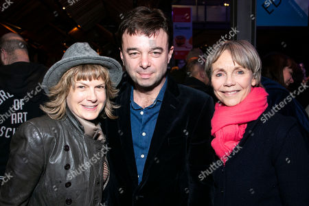 Penny Smith, Edward Hall (Director) and Lucy Fleming