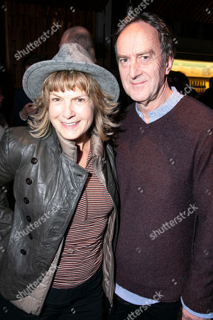 Penny Smith and Angus Deayton