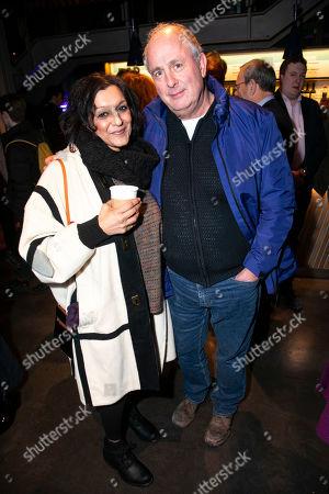 Meera Syal and Roger Michell