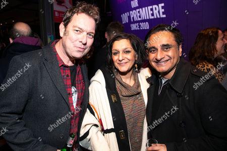 Joe Penhall, Meera Syal and Sanjeev Bhaskar