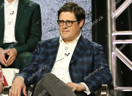 "Stock Image of Rich Sommer participates in the ""In the Dark"" panel during the CW TCA Winter Press Tour, in Pasadena, Calif"