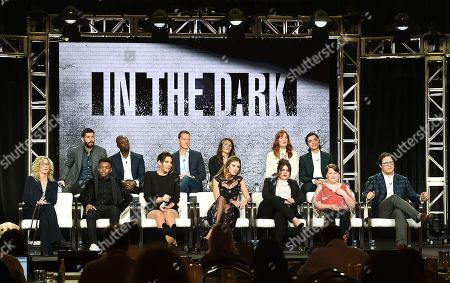 Editorial picture of CW 'In the Dark' TV Show Panel, TCA Winter Press Tour, Los Angeles, USA - 31 Jan 2019
