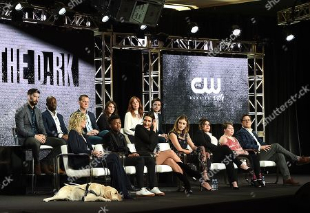 Editorial image of CW 'In the Dark' TV Show Panel, TCA Winter Press Tour, Los Angeles, USA - 31 Jan 2019