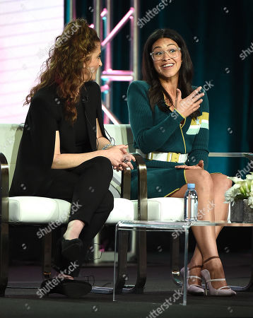 Stock Picture of Gina Rodriguez, Jennie Snyder Urman
