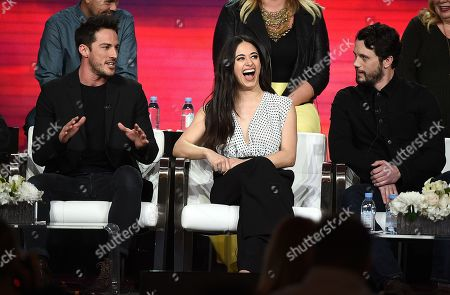 Stock Image of Michael Trevino, Jeanine Mason, Nathan Dean Parsons
