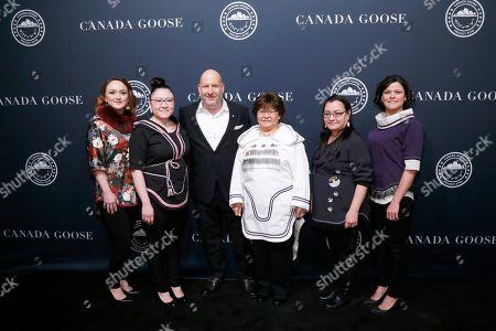 Editorial image of Canada Goose Project Atigi Launch Event, New York, USA - 31 Jan 2019
