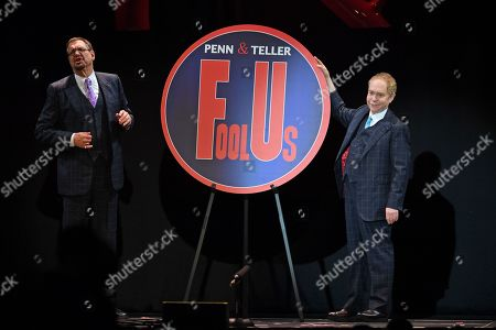 Editorial picture of Penn and Teller perform at the Hard Rock Events Center, Hollywood, USA - 31 Jan 2019