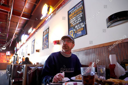 Phil Heidemann discusses whether or not he'll watch the upcoming Super Bowl while eating lunch at a sports bar in Fenton, Mo. St. Louisans may watch the game this weekend but few will be rooting for the Rams, the team that left the city for Los Angeles three years ago, leaving hard feelings and Rams owner Stan Kroenke and his team being even less popular than the Cubs