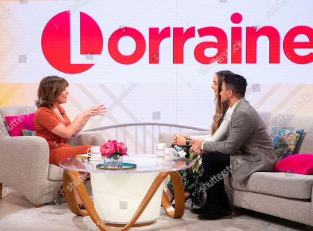 Lorraine Kelly, Emily MacDonagh and Peter Andre