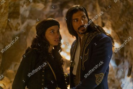 Tania Raymonde as Christina and Jan Uddin as Tariq
