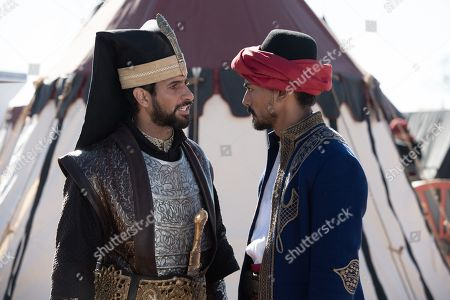 Raza Jaffrey as Sunal and Jan Uddin as Tariq