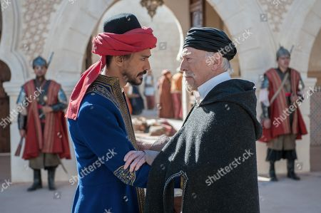 Jan Uddin as Tariq and Christopher Plummer as Thanasi