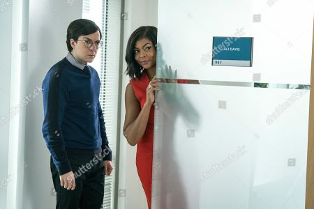 Josh Brener as Brandon and Taraji P. Henson as Ali Davis