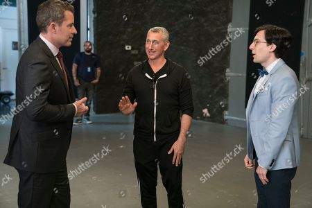 Jason Jones, Adam Shankman Director and Josh Brener as Brandon