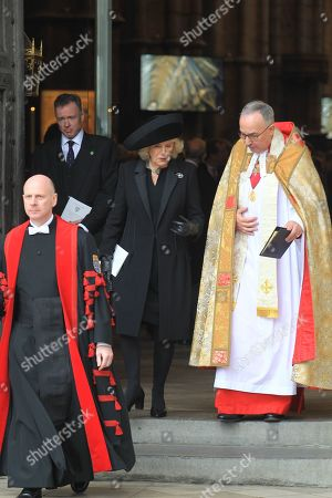 Editorial image of Service of Thanksgiving for Lord Carrington, London, UK - 31 Jan 2019
