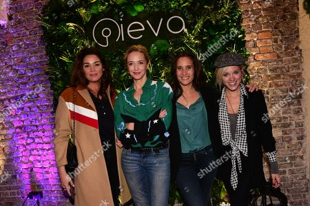 Stock Photo of Lola Dewaere, Helene de Fougerolles, Julie De Bona, Anais Delva