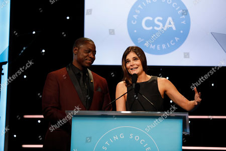 Dohn Norwood and Betsy Brandt