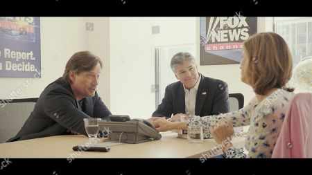 Stock Image of Kevin Sorbo as Dr. Sol Harkens, Sean Hannity and Sam Sorbo as Katy Harkens