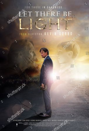 Stock Picture of Let There Be Light (2017) Poster Art. Kevin Sorbo as Dr. Sol Harkens and Shane Sorbo as Conner Harkens