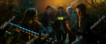 Ella Hunt as Anna Shepherd, Malcolm Cumming as John, Christopher Leveaux as Chris Wise, Sarah Swire as Steph North and Ben Wiggins as Nick