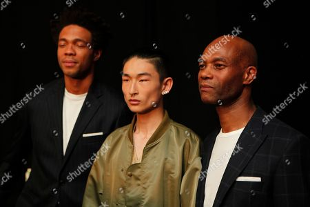 Stock Image of Joe Casely-Hayford and Charles Casely-Hayford