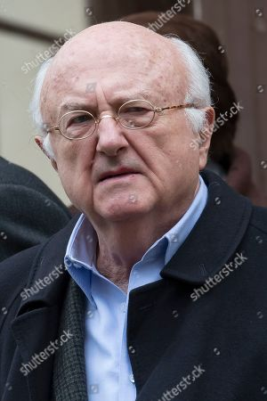 Romanian-born French composer Vladimir Cosma attends the funeral of the late French composer Michel Legrand at the Saint-Alexandre-Nevsky Orthodox church in Paris, France, 01 February 2019. Oscar-winning Legrand, who composed music scores for classic films such as 'The Umbrellas of Cherbourg', died aged 86 on 26 January 2019.