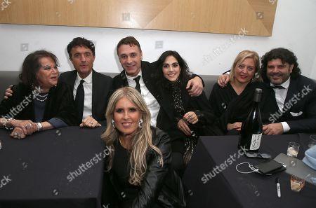 Claudia Cardinale, Giulio Base, Raoul Bova, Tiziana Rocca, Patrizia Fersurella, Flavio Colotta, Rocío Muñoz