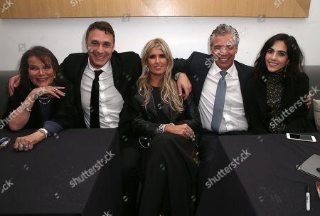 Claudia Cardinale, Raoul Bova, Tiziana Rocca, Rocío Muñoz, Guest