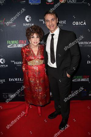 Gina Lollobrigida, Raoul Bova