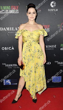 Editorial photo of Filming Italy Awards, Los Angeles, USA - 31 Jan 2019