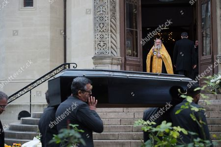 Editorial picture of Funeral of Michel Legrand, Paris, France - 01 Feb 2019