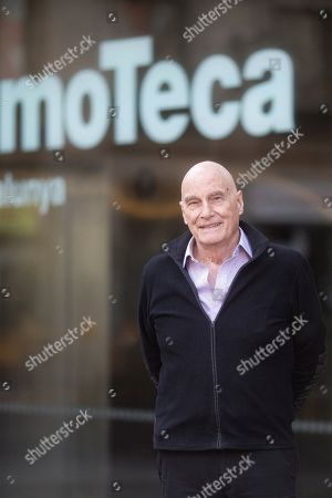 Barbet Schroeder poses for photographers shortly before the presentation of a retrospective of his work at the Catalan Film Archive in Barcelona, Spain, 01 February 2019.