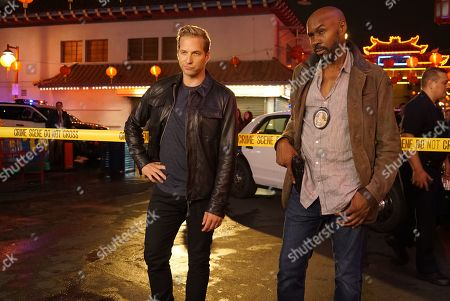 Ryan Hansen and Wood Harris as Vince Vincente