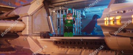 Green Lantern (Jonah Hill) and Superman (Channing Tatum)
