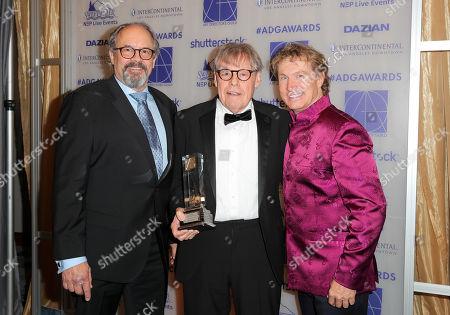 Chuck Parker, William F. Matthews - Lifetime Achievement Award Honoree and Nelson Coates