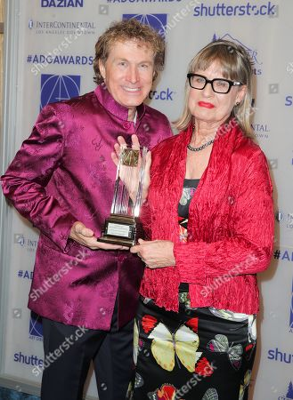Nelson Coates and Jeannine Oppewall - Lifetime Achievement Honoree