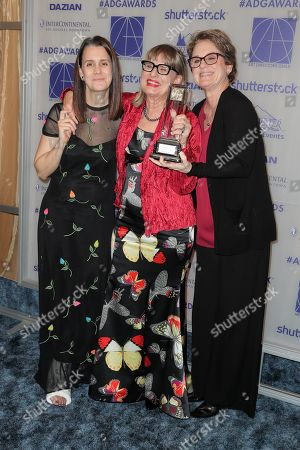 Stock Picture of Julie Lynn, Jeannine Oppewall - Lifetime Achievement Honoree and Bonnie Curtis