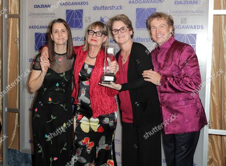 Stock Image of Julie Lynn, Jeannine Oppewall - Lifetime Achievement Honoree, Bonnie Curtis and Nelson Coates