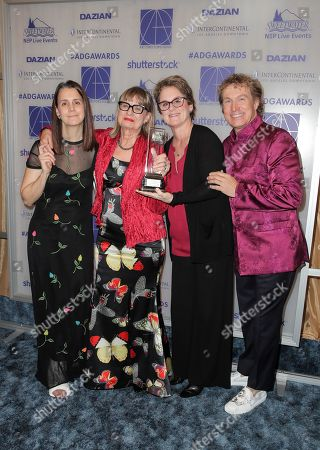 Stock Photo of Julie Lynn, Jeannine Oppewall - Lifetime Achievement Honoree, Bonnie Curtis and Nelson Coates