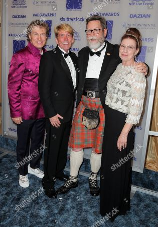 Stock Picture of Nelson Coates, Rick Nichol, Jim Wallis and Cate Bangs