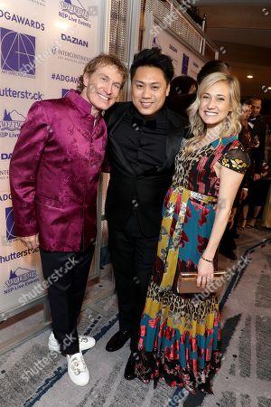 Nelson Coates, Jon M. Chu and Kristin Hodge