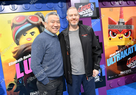 Stock Picture of Kevin Tsujihara and Toby Emmerich