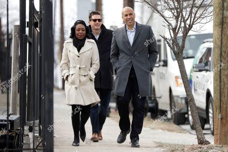 Editorial image of Election 2020 Cory Booker, Newark, USA - 01 Feb 2019